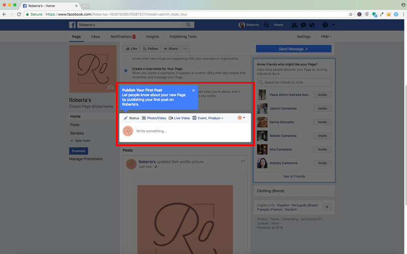 Set Up Your Facebook Account9