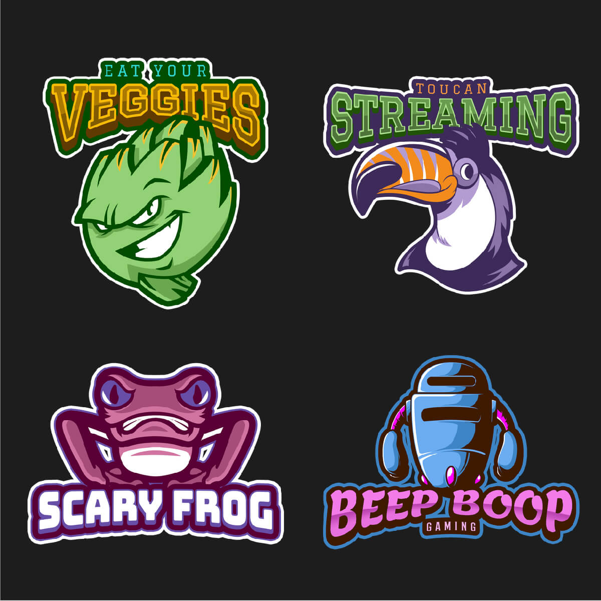 Gaming Logos Twitch Channel 2