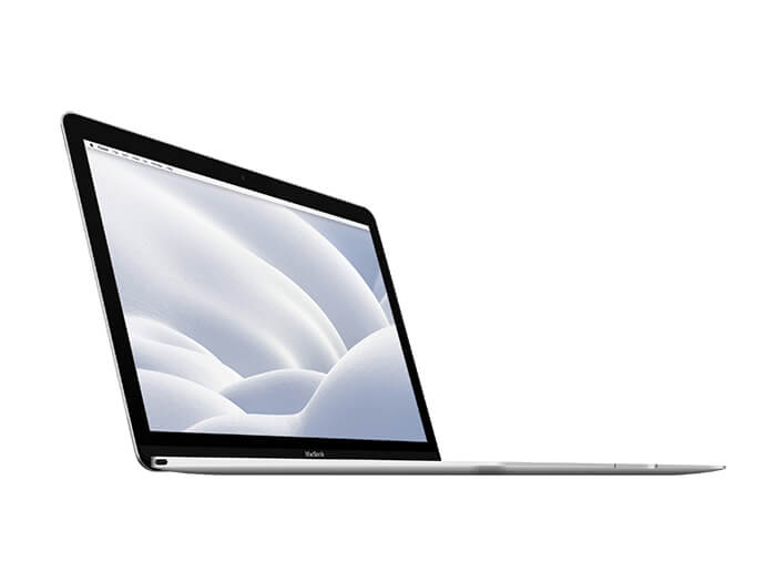 12 Inch Macbook Mockup Copy