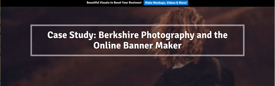 Berkshire Photography And The Online Banner Maker Placeit Blog And Generate Fb Ad