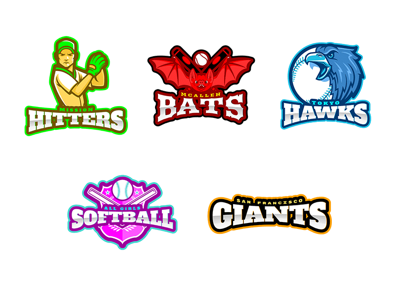 Little League Logo Ideas for Baseball
