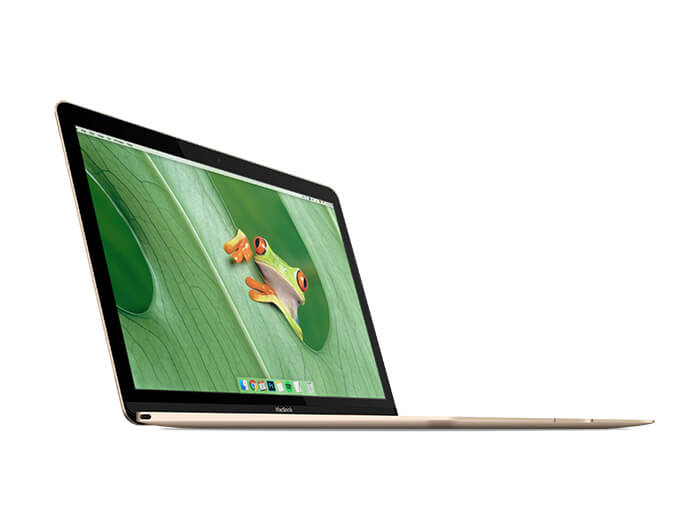 Macbook Gold Mockup Copy
