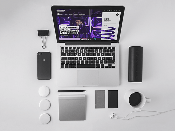 Macbook Mockup Template Modern Set