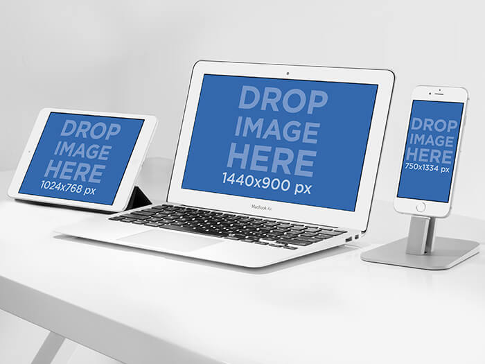 Macbook Mockup X Copy