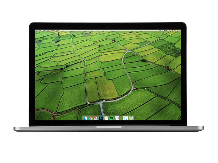 Macbook Pro 2012 Mockup Copy