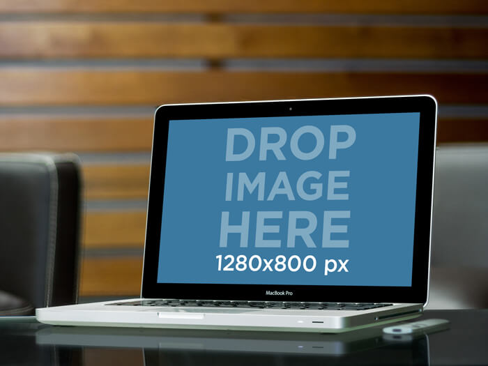 Macbook Pro Mockup Elegant Office