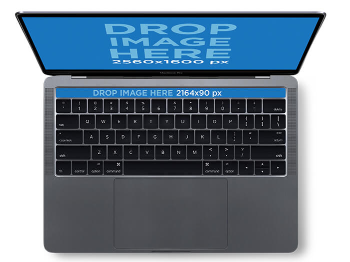 Space Gray Macbook Genius Bar Mockup Copy