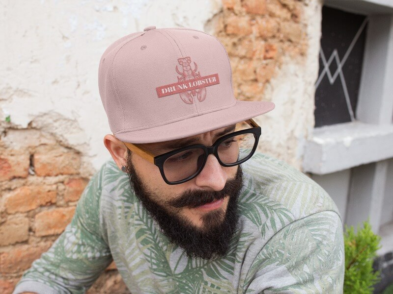 Bar Logo Maker Hat Mockup
