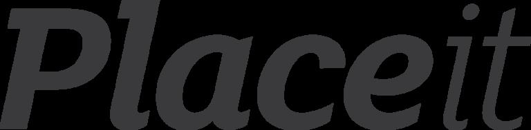 Placeit Logo Grey