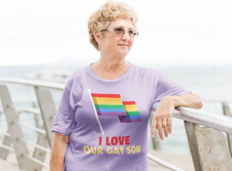 Pride T Shirt Mockup