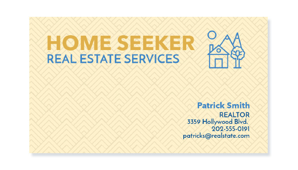 Real Estate Business Card Modern