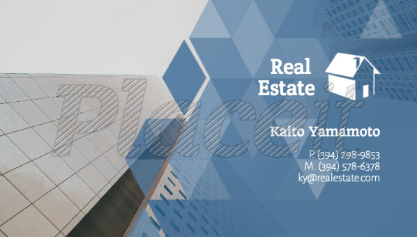 Real Estate Business Card Maker with Placeit