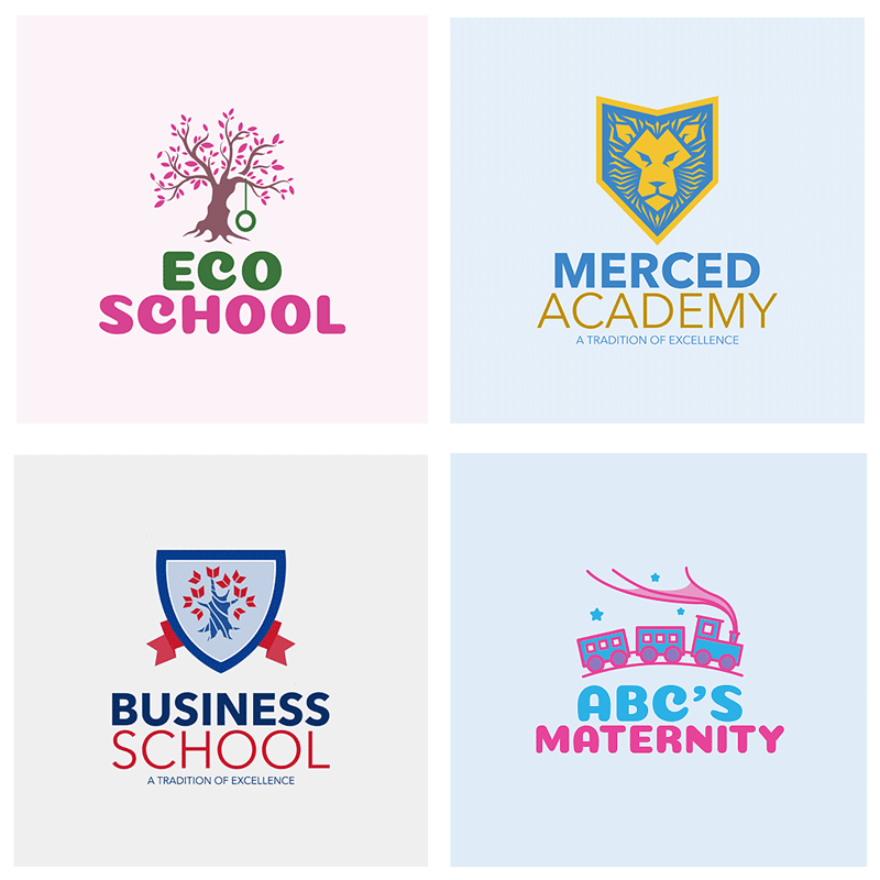 School or University Logo Maker