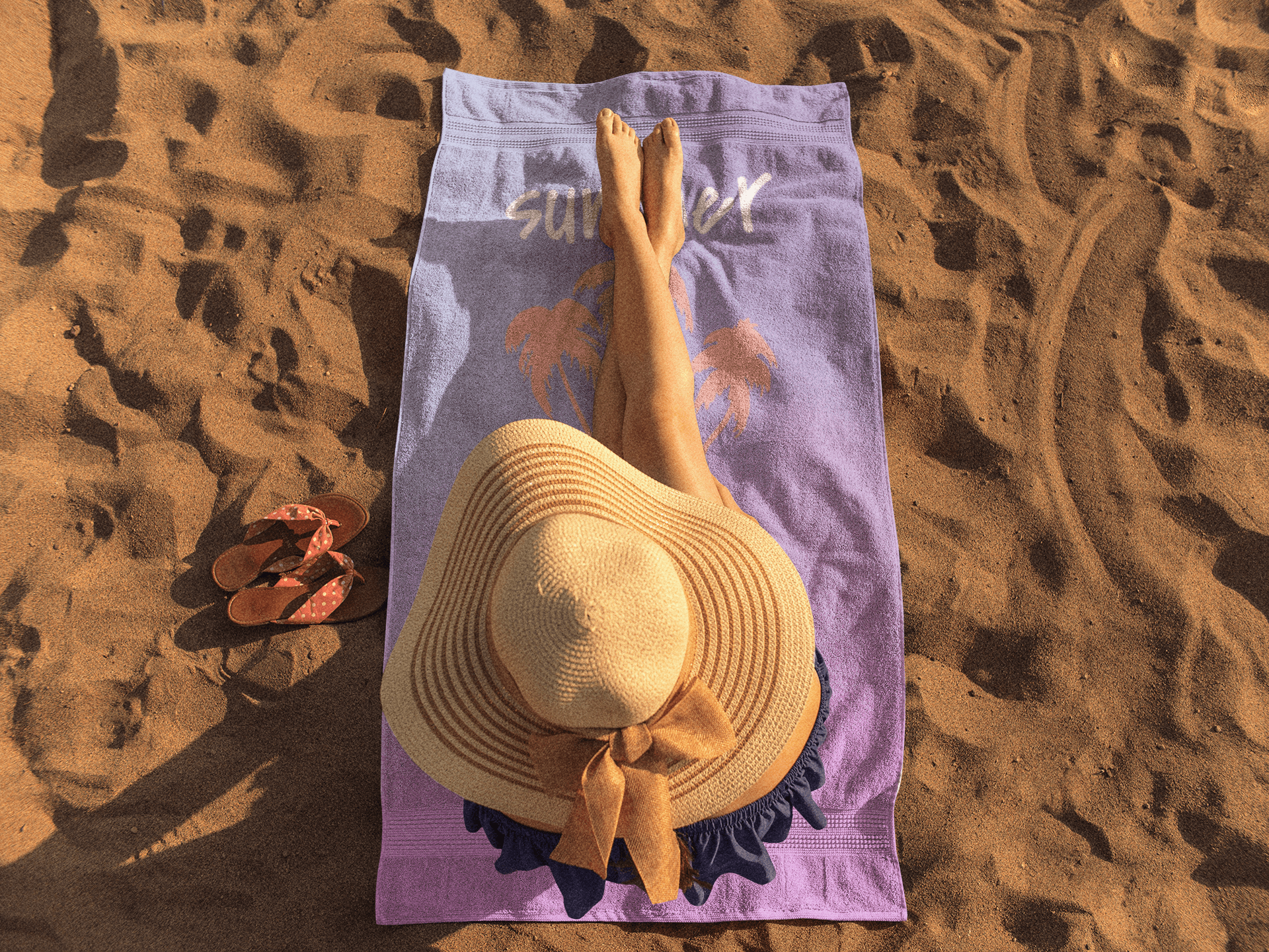 Beach Towel Mockups