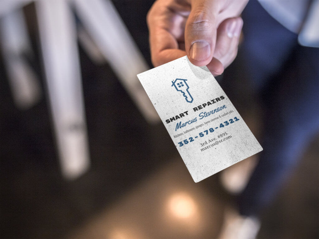 Handyman-business-card-mockup
