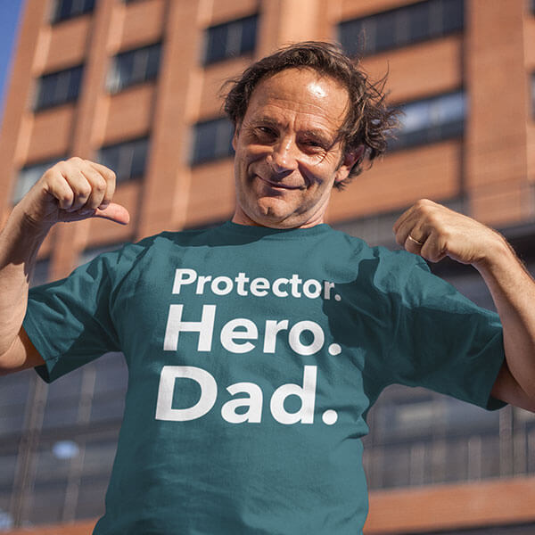 Hero Fathers Day Tshirt Design