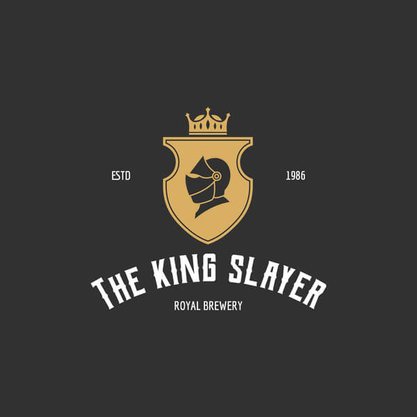 King Bar Logo Maker