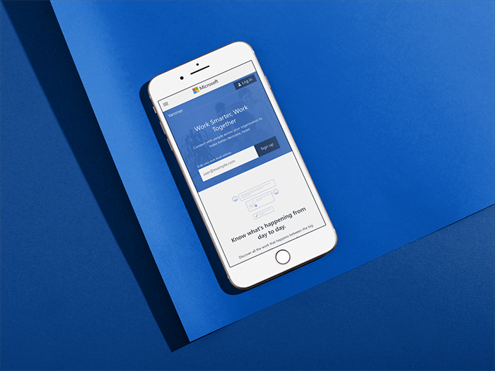 Minimalist iPhone Mockups