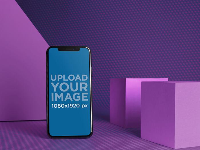 Minimal Iphone Mockup 12