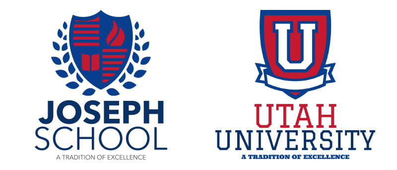 Shields for Schools and Universities Logos