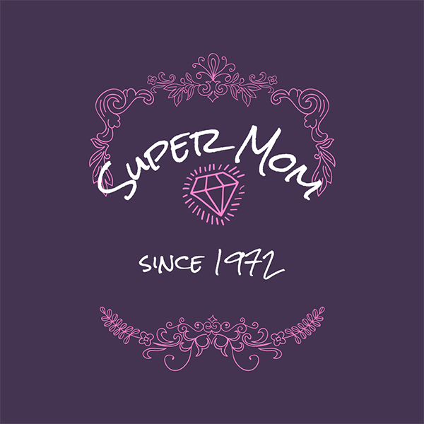 Super Mom - mother's day design