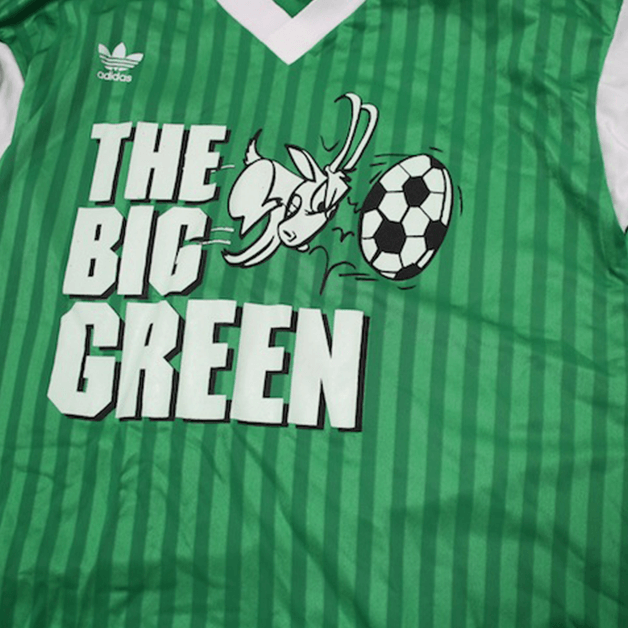 The Big Green Soccer Logo