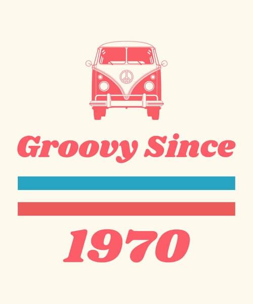 70s Tshirt Template