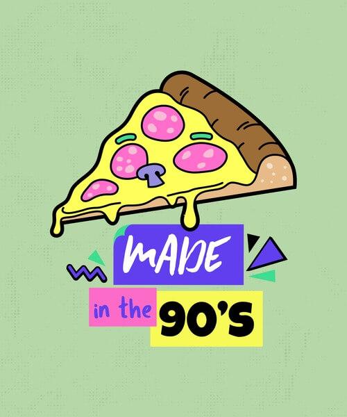 90s Tshirt Template
