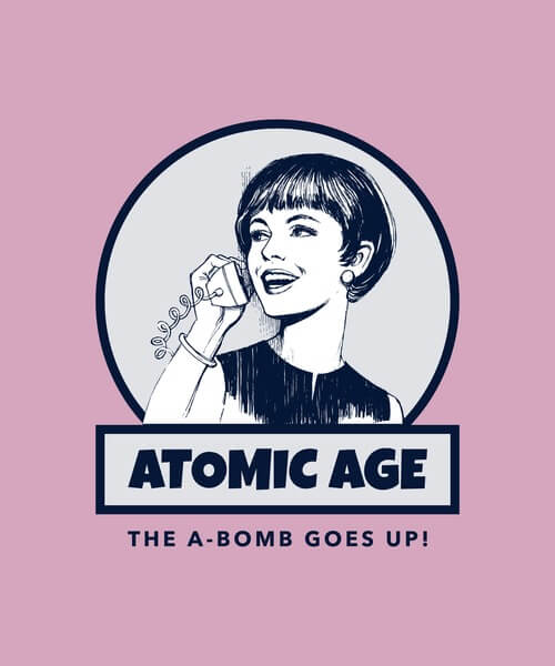 Atomic Age Tshirt Maker