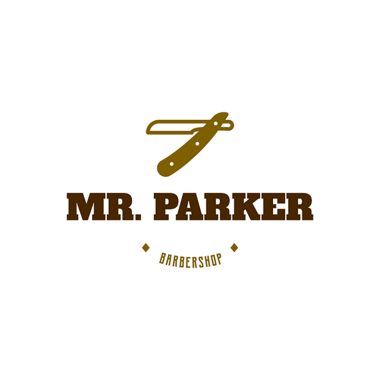 Barber Shop Logo Maker Template