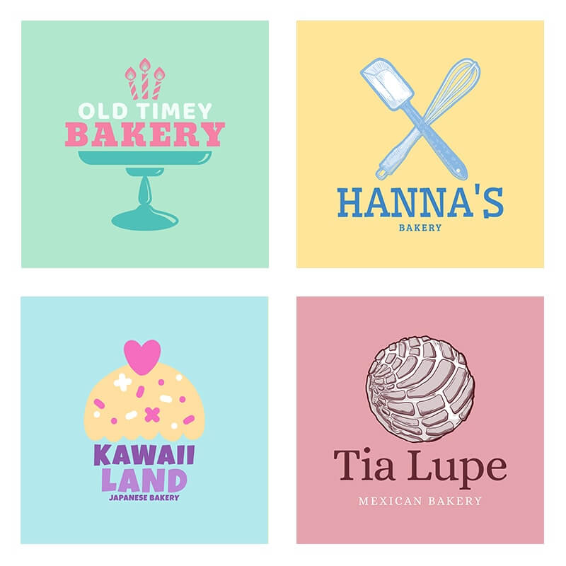 Bakery Logo Header Image