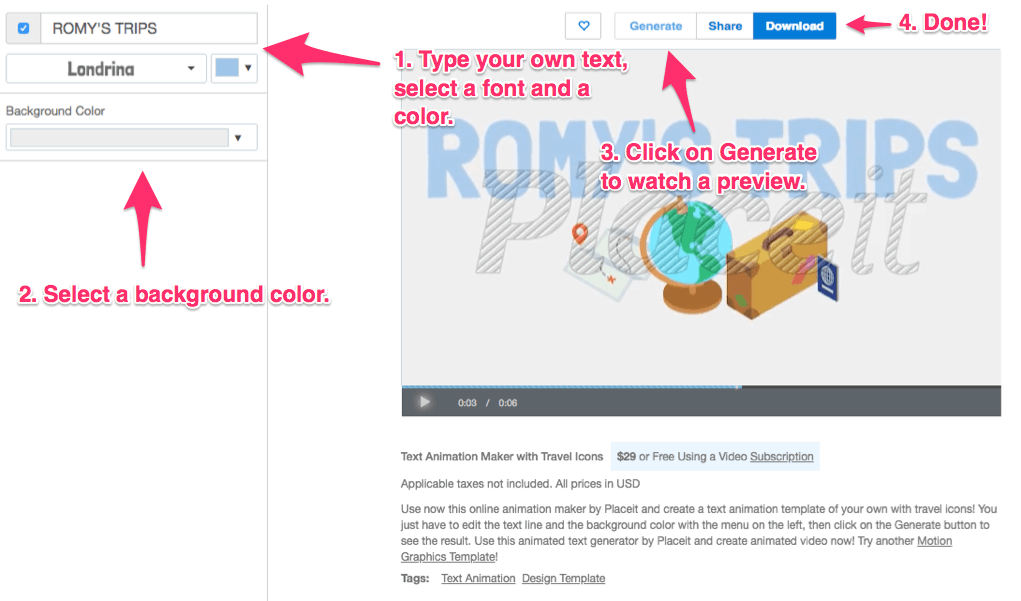 How-to-use-placeit-text-animation-maker