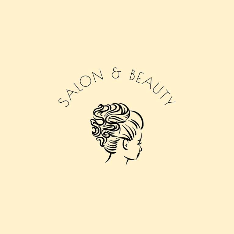 Hairstylist Logo Template