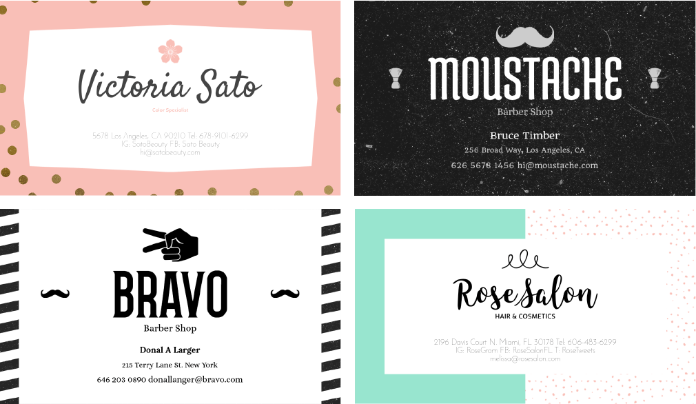 hair stylist business card header2 01 - Stylist Business Cards