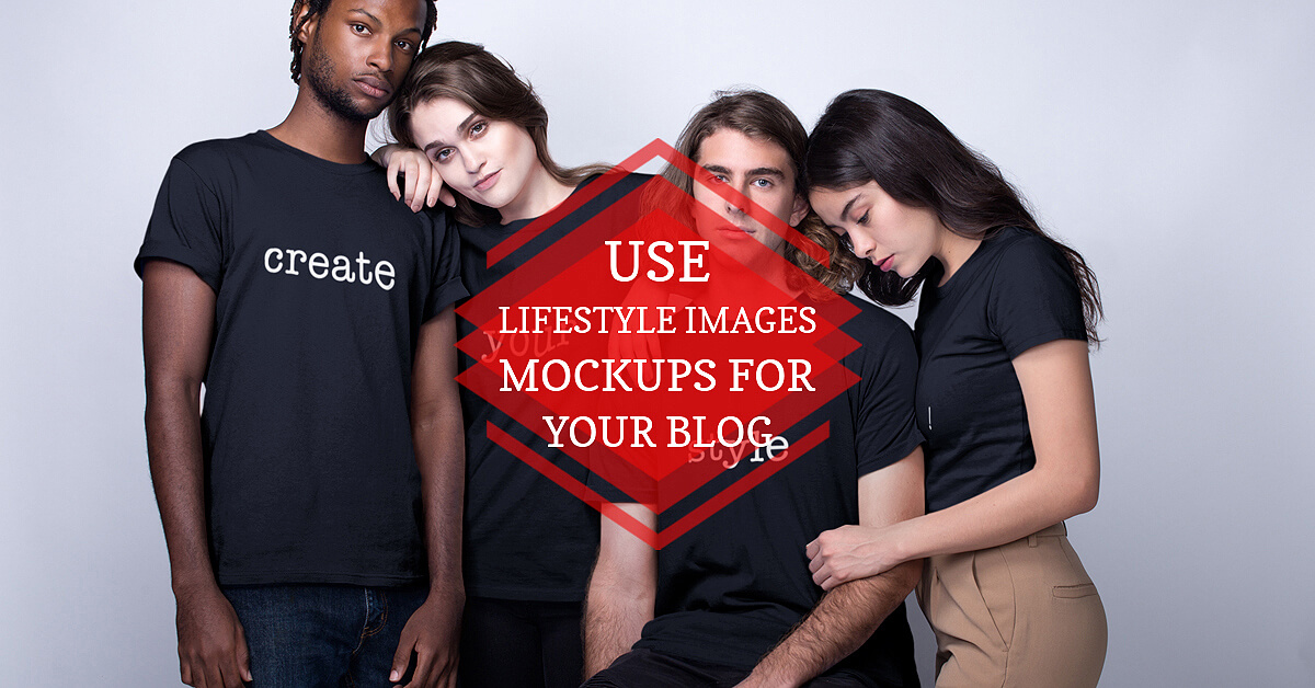 Mockups Of Lifestyle Images For Blog