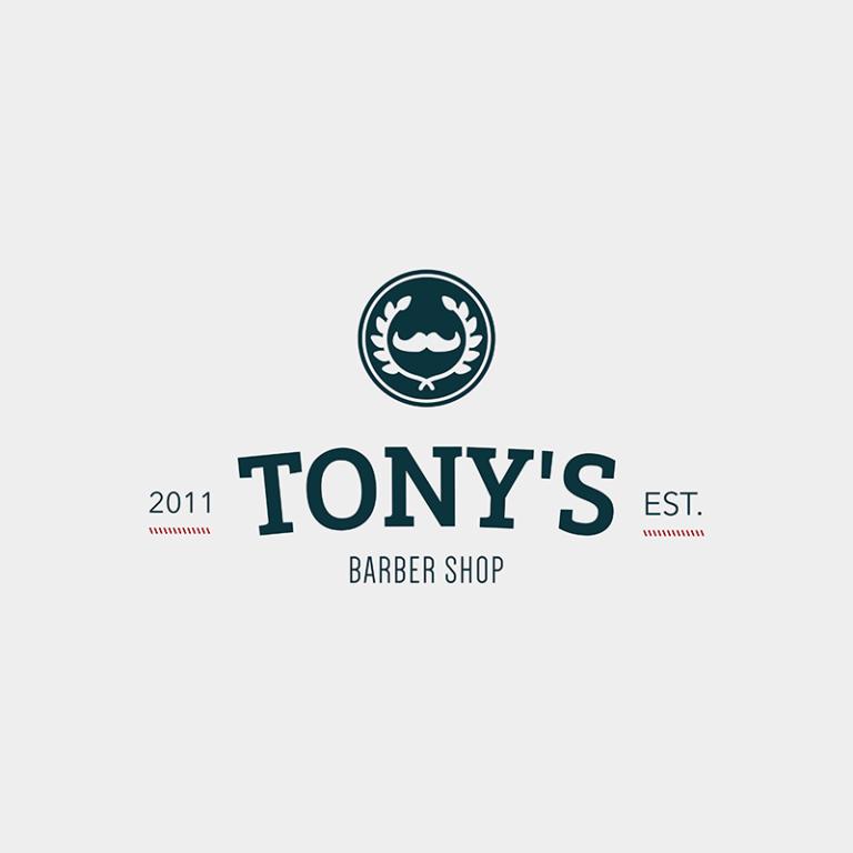 Tonys Baber Shop Logo