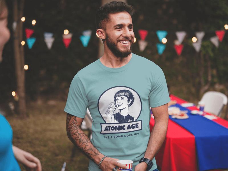 Atomic Age Tshirt Mockup