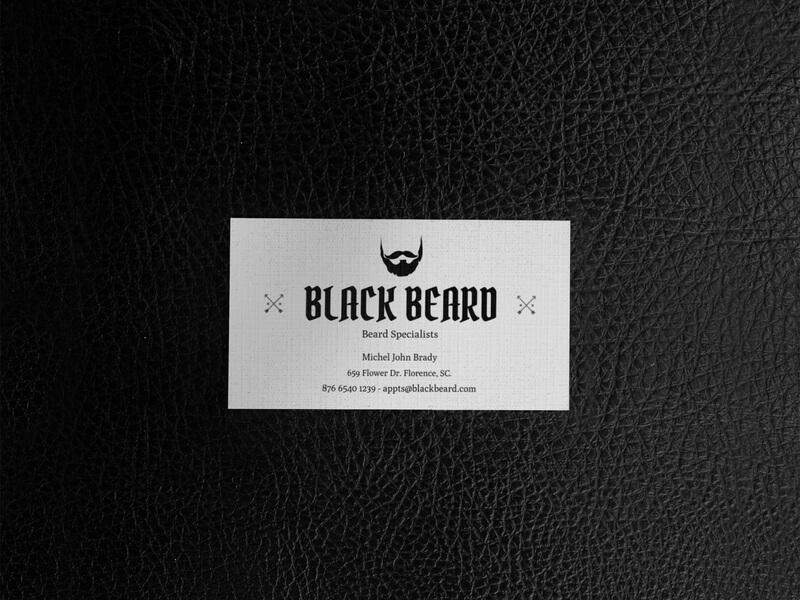 Black Beard Mockup