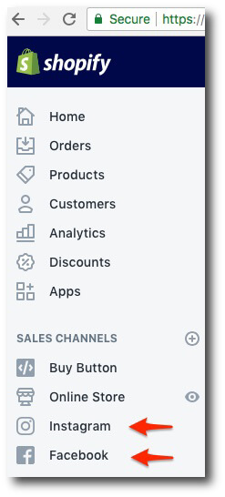 Instagram Shopping Shopify Screenshot Effect