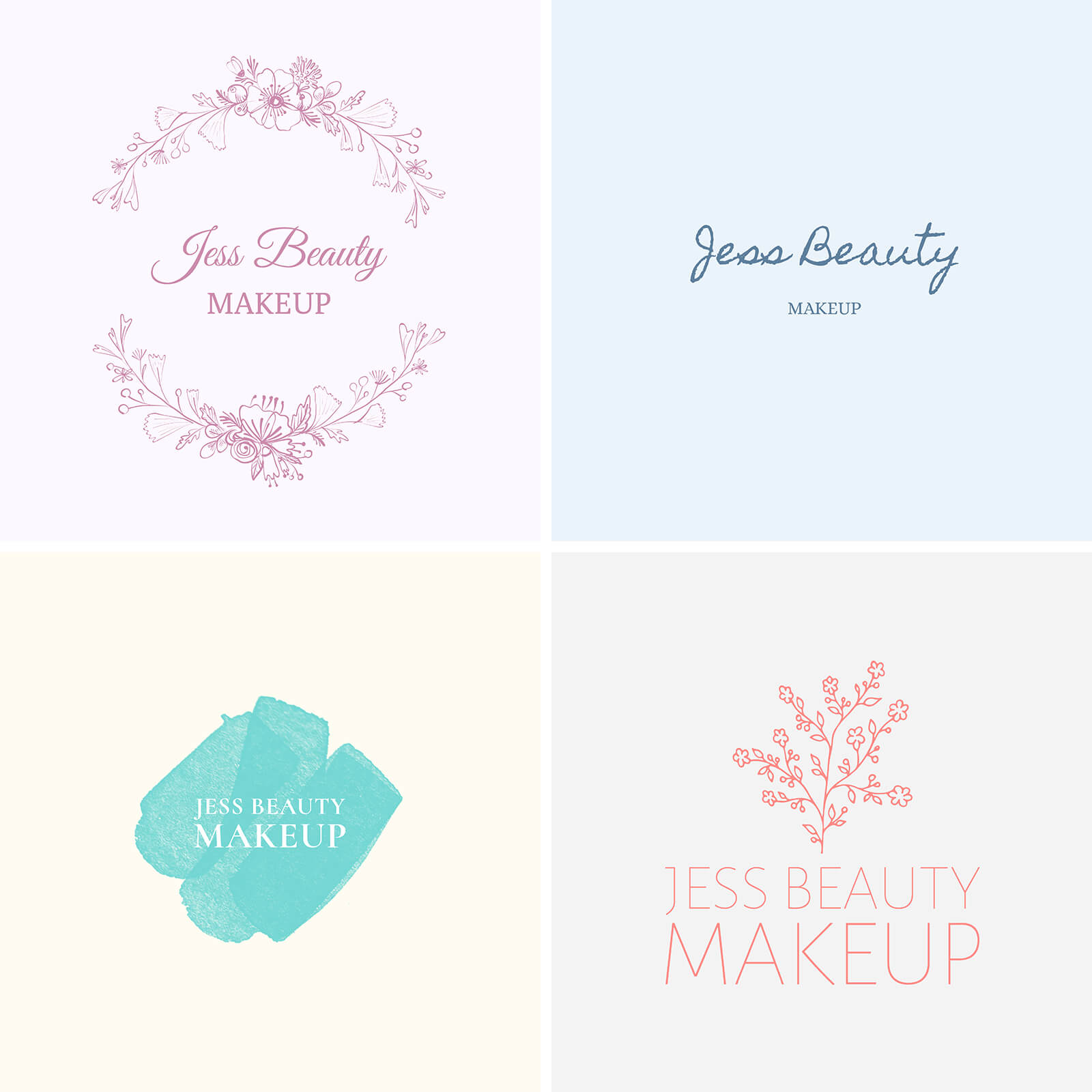 Beauty Business Logos