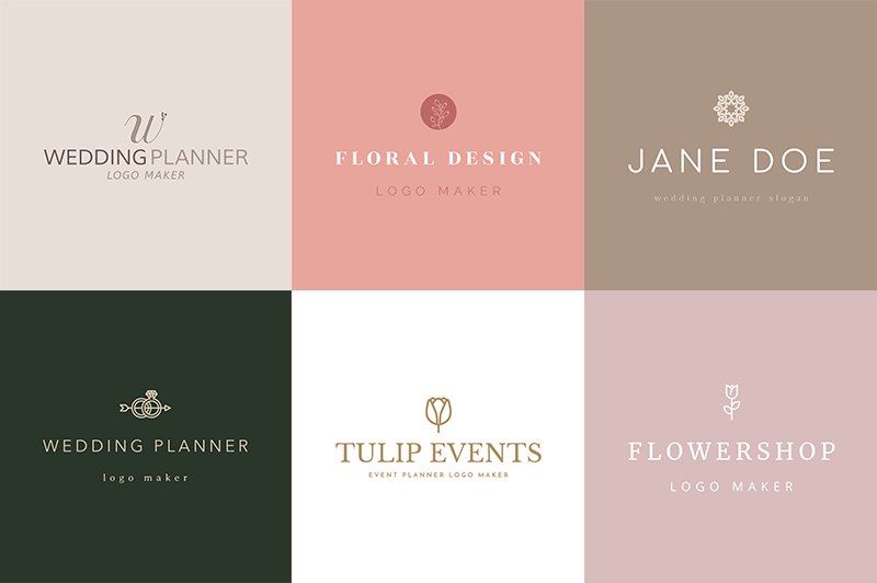 Event Planner Logo Maker Example Logos