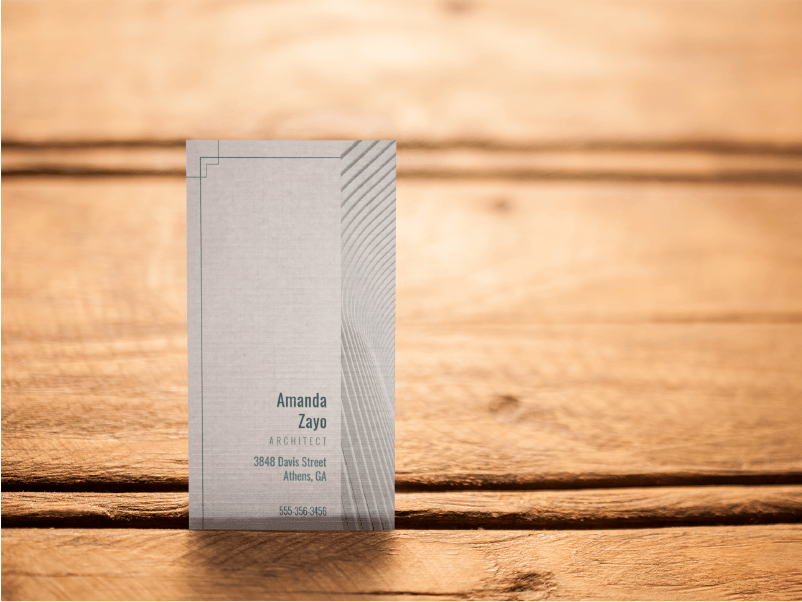 Architecture Business Card Light