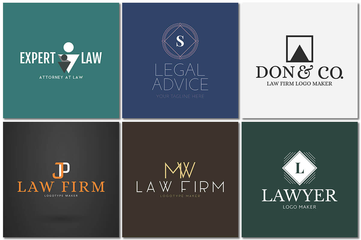 Law Firm Logo Modern