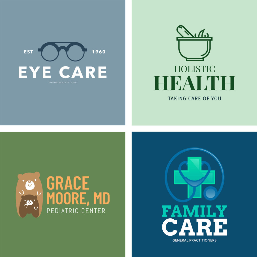 Medical Logo Maker Grid