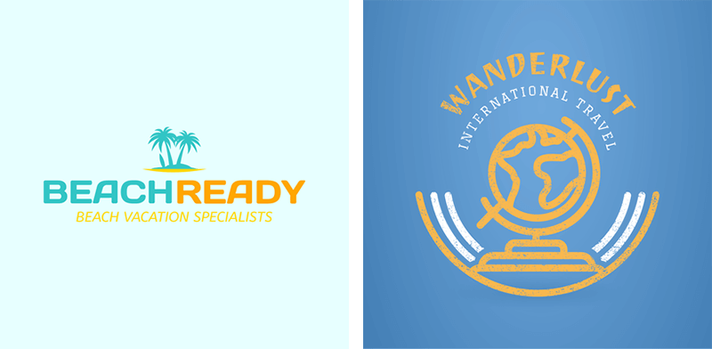 Specialty Travel Logo Examples