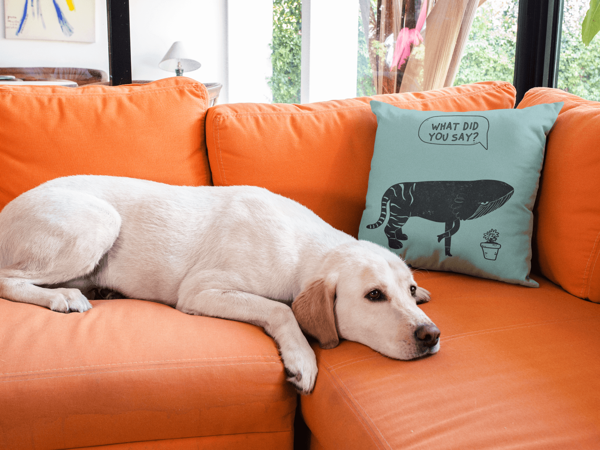 Doggy Pillow Mockup