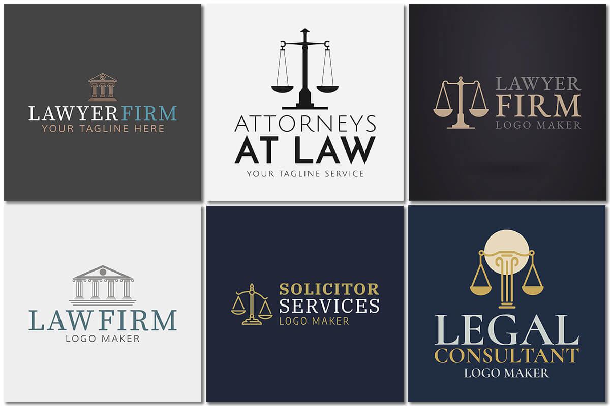 Law Firm Logo Grid Classic