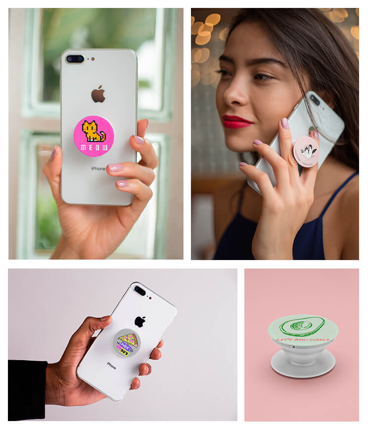 Popsocket Mockups Collage