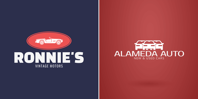 Zoom Past The Competition With A Creative Automotive Logo Placeit Blog