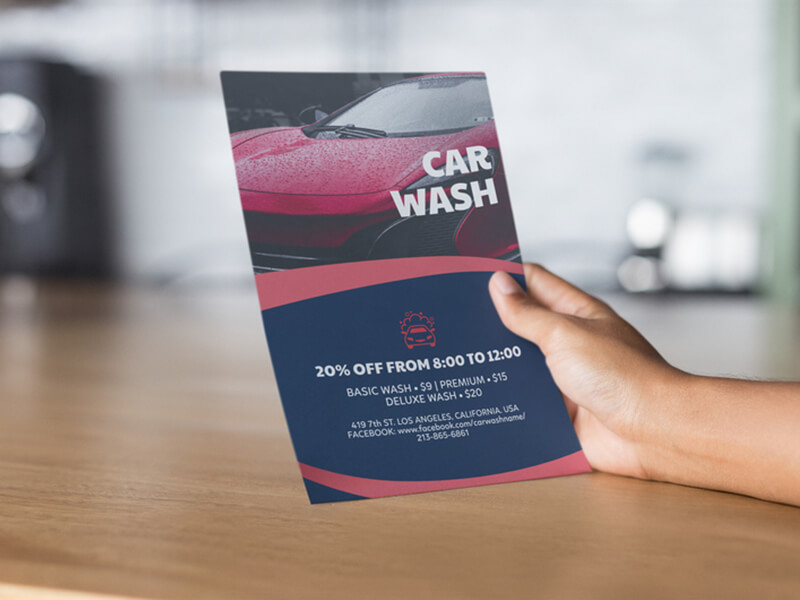 Car Wash Flyer Maker